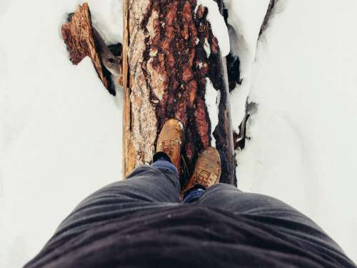 snow winter cold footwear shoes