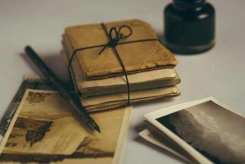 pictures photos vintage pen ink