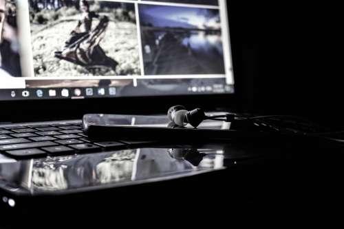 laptop computer gadget modern technology