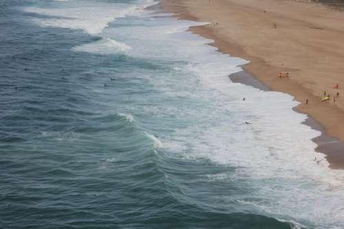 sea water ocean waves beach