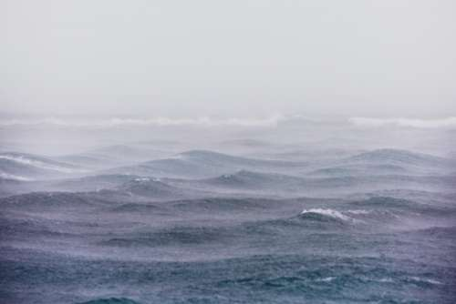 sea ocean water waves nature