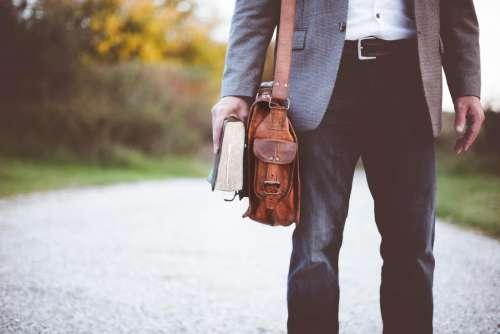 people man bag clothing bible