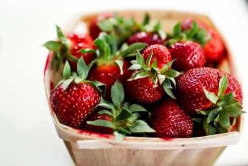 strawberry fruit food dessert fresh