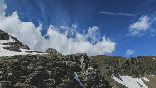 nature landscape grass mountain mountaineer