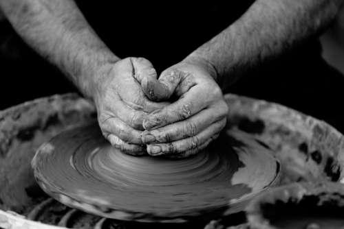 crafts hobby pottery clay wheel