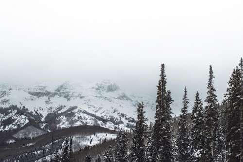 nature landscape mountains snow alps