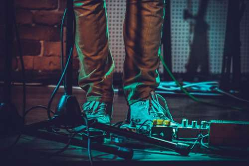 shoe footwear concert effects sound