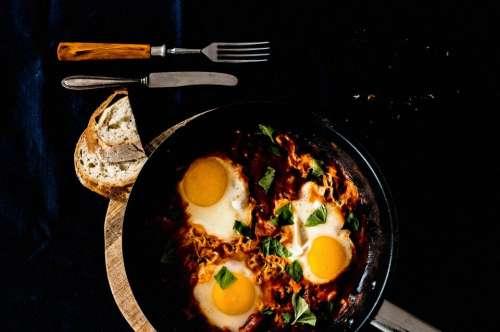 fried egg food breakfast lunch