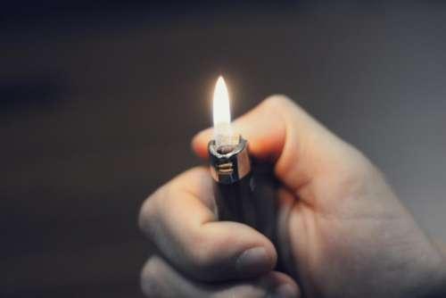 lighter fire flame hands