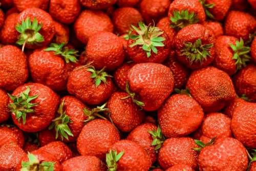red fruit fresh harvest farm