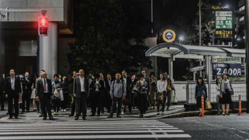 people men women walking pedestrian
