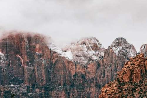 hill rock cliff mountain landscape