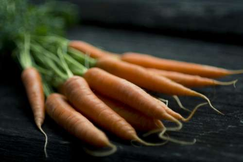 food carrots produce healthy vegetables