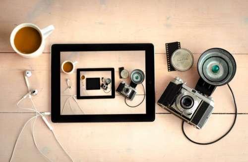 camera flash lens photography film