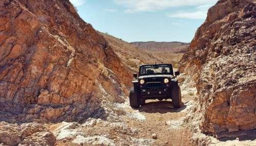 jeep land vehicle travel road