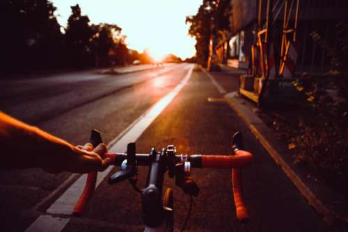 road street bike bicycle cyclist