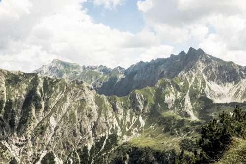nature landscape mountain trek hike