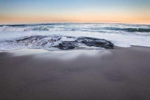 sea ocean water beach waves