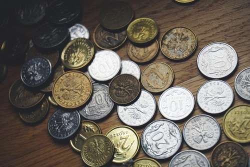 coins money pay savings cents