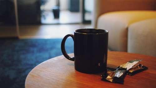 coffee cup mug table office