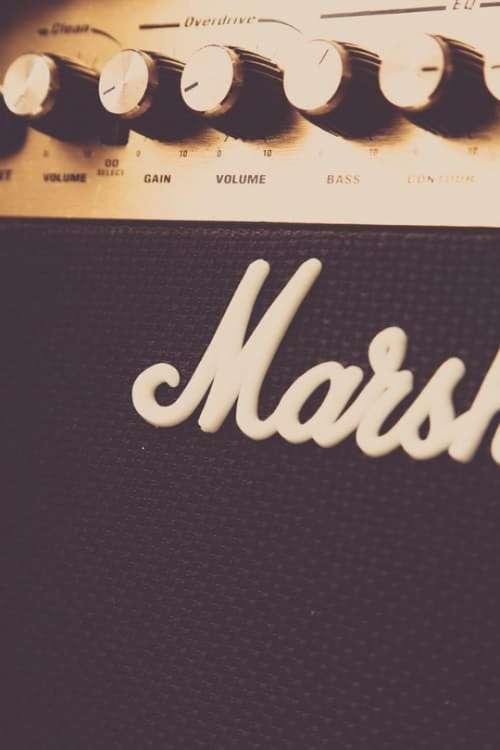 marshall company audio amplifier musical