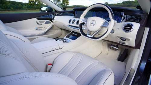 car vehicle luxury interior white
