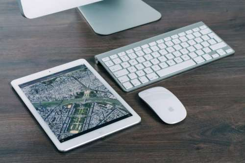 ipad tablet keyboard mouse computer