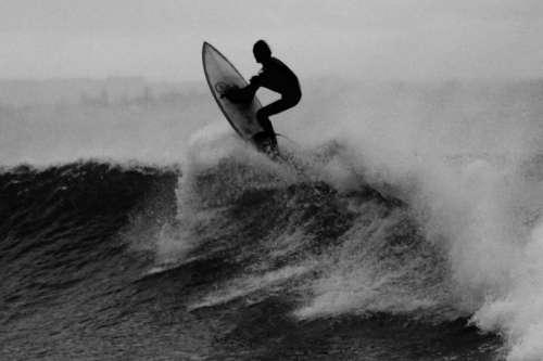 nature water waves crash surf