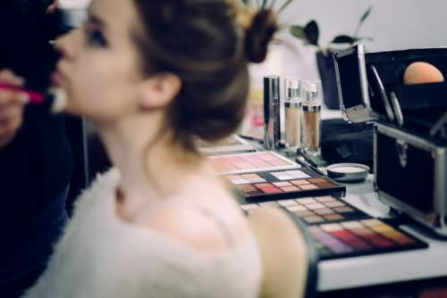 makeup people woman beauty face