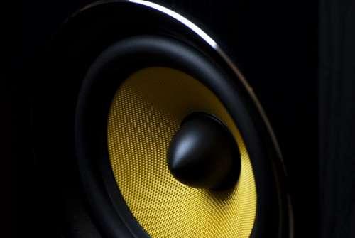 speaker music bass sound audio