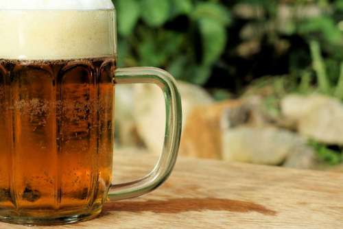 beer pint brew alcohol drink