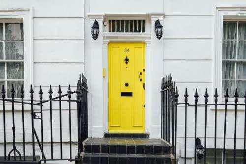 house home residence steps tiles
