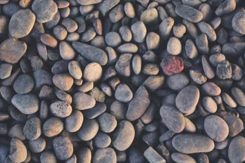 rocks pebbles nature
