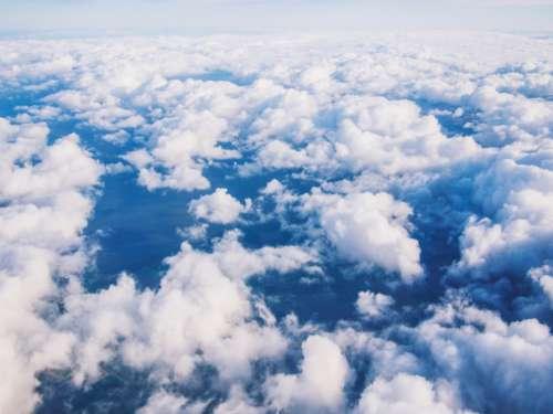 sky clouds travel trip transportation