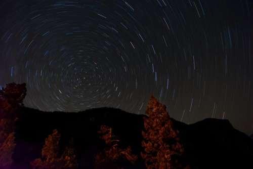 nature sky night stars constellation