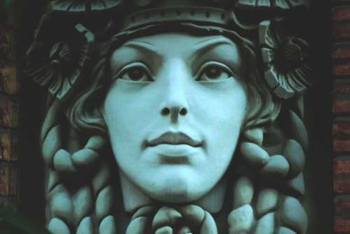 statue face antiquity art sculpture