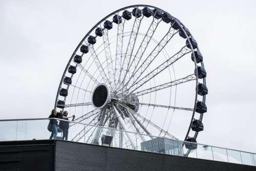 wheel round circle steel metal