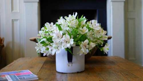house home interior vase white