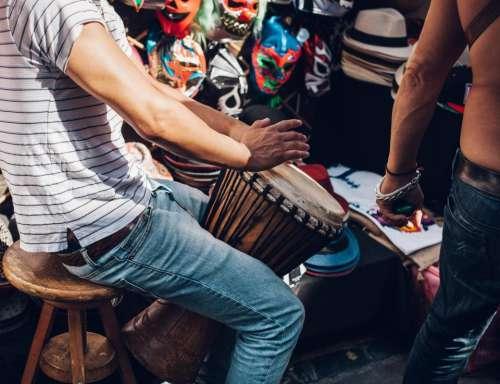 people man music percussion music