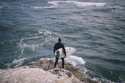 sea ocean water waves people