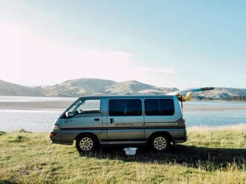 vehicle van adventure travel trip