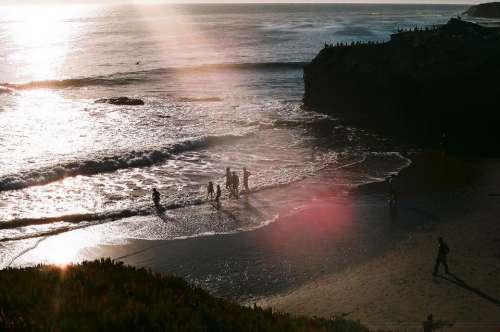 ocean sea water beach coast