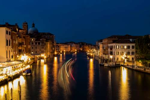 Venice Italy night amazing beautiful