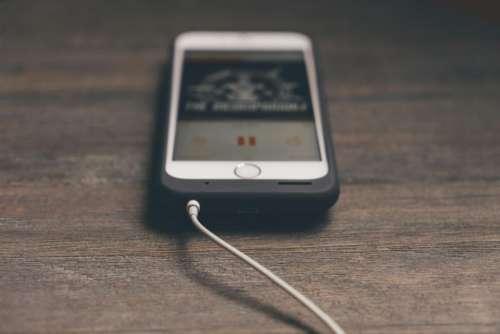 phone cellphone apple iphone white