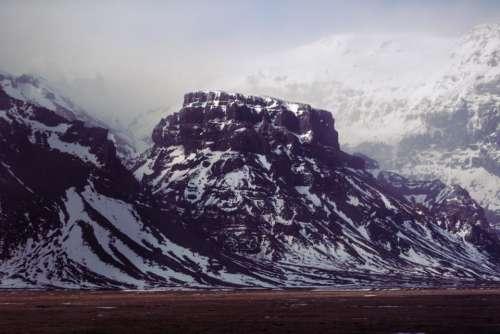 mountain land field landscape nature