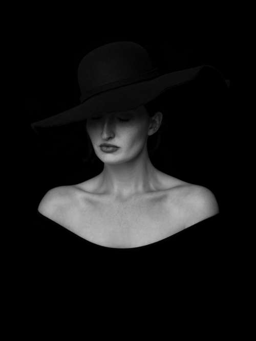 black and white monochrome people woman lady