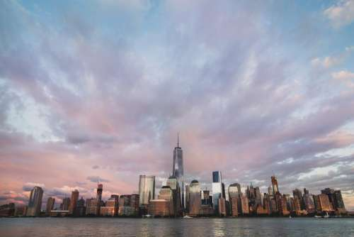 New York city NYC skyline cityscape