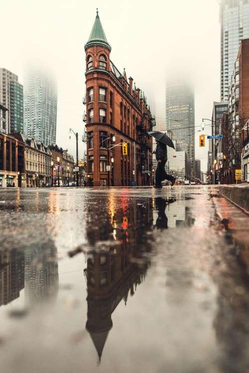 water rain raindrop road wet