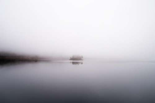 sea water fog nature cold