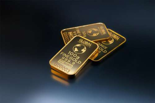 gold sticker design ounce shiny
